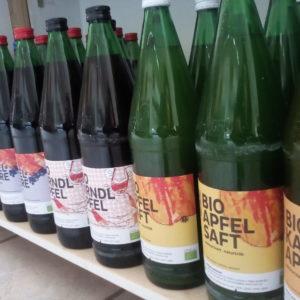 Apfel-Holunder Saft