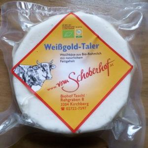 Weißgold Taler