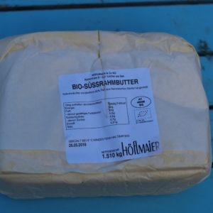 Butter aus Süßrahm ganzer Block Höflmaier