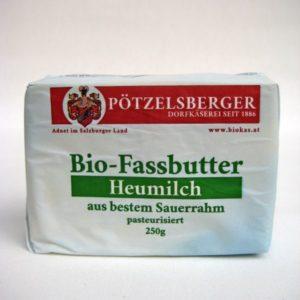 Fassbutter aus Sauerrahm Pötzelsberger