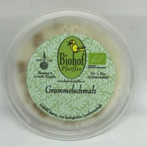 Grammelschmalz Schwein Pfeiffer