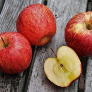 Apfel Roter Delicious, kackig, süß, gut haltbar Lindner