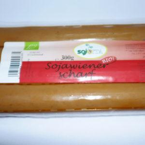 Sojawiener scharf