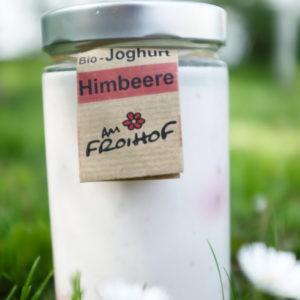 Himbeerjoghurt 600g kalbfreundlich vom Froihof