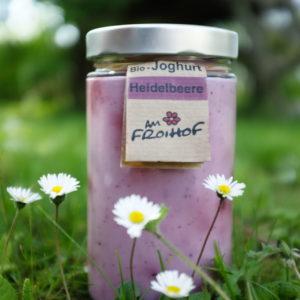 Heidelbeerjoghurt 600g kalbfreundlich vom Froihof