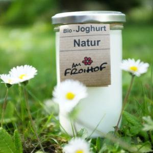 Naturjoghurt 250g stichfest kalbfreundlich vom Froihof