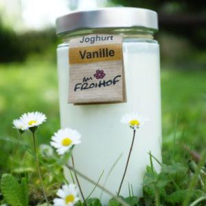 Vanillejoghurt 600g kalbfreundlich vom Froihof