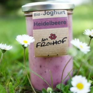 Heidelbeerjoghurt 250g kalbfreundlich vom Froihof