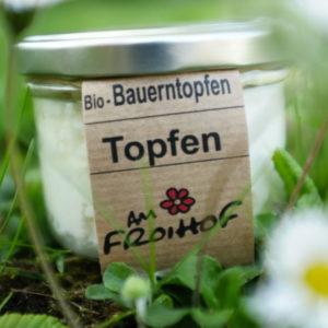 Topfen Vollmilch 170g kalbfreundlich vom Froihof
