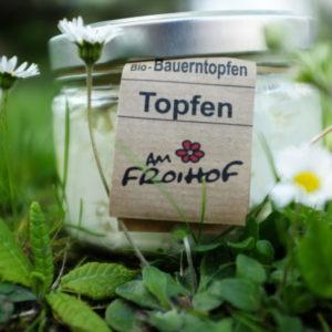Topfen Rohmich 400g kalbfreundlich vom Froihof