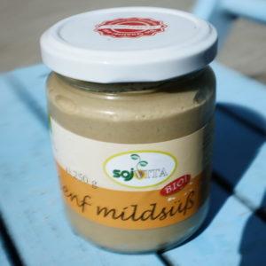 Senf mild süß
