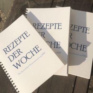 Rezeptbuch 'Rezepte der Woche'