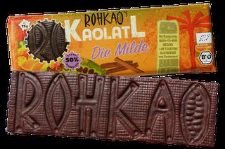Schokoladiger CashewIngwerTraum 'Kaolatl' nur mit Dörrfrüchten gesüßt