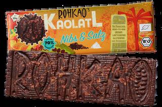 Schokolade Nibs&Salz nur mit Dörrfrüchten gesüßt, unverpackt!