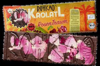 Schokoladiger RosenTraum 'Kaolatl' nur mit Dörrfrüchten gesüßt