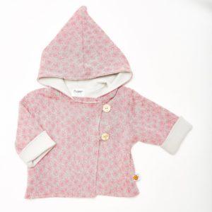 Baby Wendejacke rosa