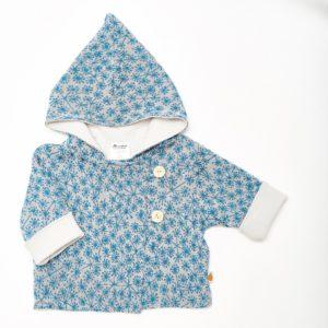 Baby Wendejacke blau