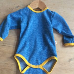 Baby Body blau 'Dotties'