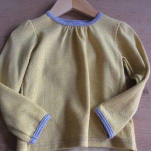 Langarmshirt gelb
