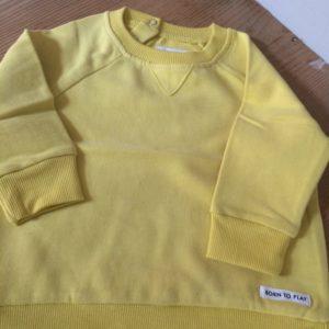 Shirt langarm gelb