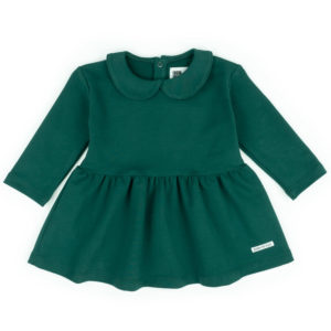 Kleidchen Langarm grün