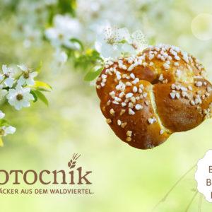Butterbriocheknopf Brotocnik