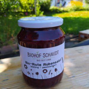 Rote Rüben Salat Biohof Schmidt zuckerfrei!