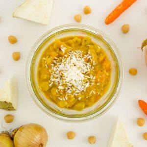 Indisches Bio Curry mit Kichererbsen vegan
