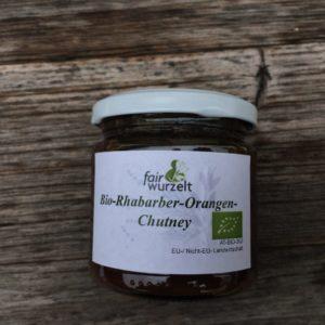 Rhabarber-Orangen-Chutney