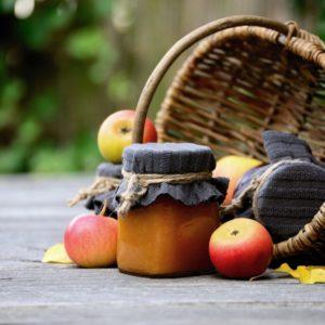 Fruchtaufstrich Apfel-Holler