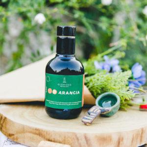 Olivenöl mit Bio-Orangen-Extrakt