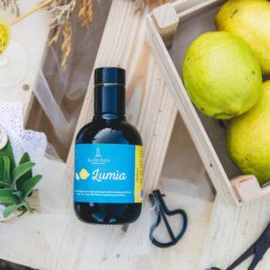 Olivenöl mit Bio-Zitronen-Extrakt