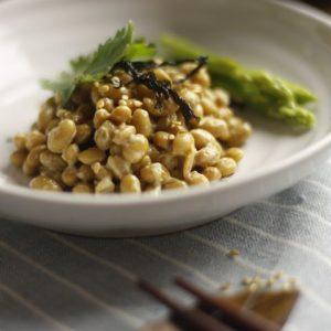 Natto klein – fermentierte Sojabohnen