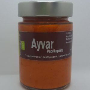 Ayvar – Paprikapaste