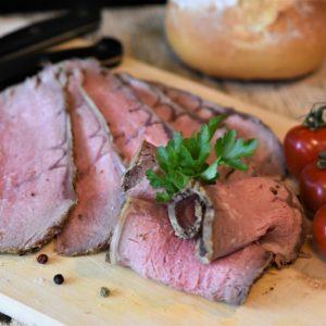 Roast Beef aufgeschnitten Angusrind