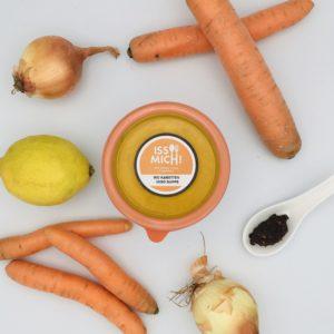 Karotten Miso Suppe vegan